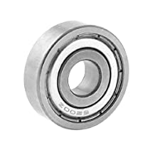 10mm x 30mm x 9mm 6200Z Radial Shielded Deep Groove Ball Bearing