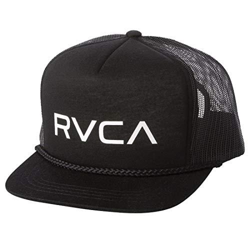 RVCA Mens Foamy Trucker Snapback Hat Black: Amazon.es: Ropa y ...