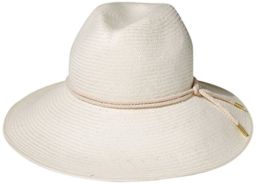 Gottex Women's Deauville Panama Sunhat Packable, Adjustable and UPF Rated, Ivory, One Size by Gottex