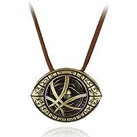 Happy Giftmart Doctor Strange Men Eye Shape Antique Pendant Necklace For Unisex