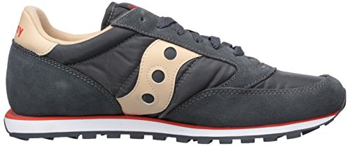 Saucony Men's Jazz Low Pro Gymnastics Shoes Black (Charcoal/Tan) buy cheap enjoy buy cheap manchester great sale top quality cheap price SMGwPVowX3