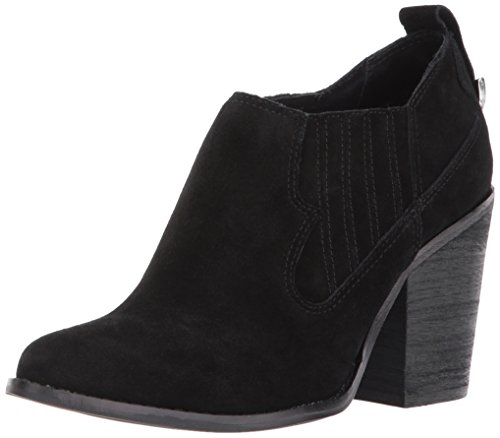 Chinese Laundry Women's Sonoma Ankle Bootie Black Suede jqc2Ve