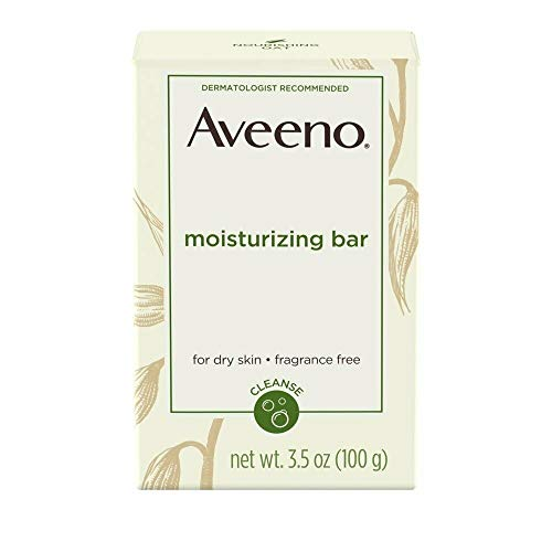 AVEENO Naturals Moisturizing Bar for Dry Skin 3.50 oz (Pack of 4) - Packaging May Vary