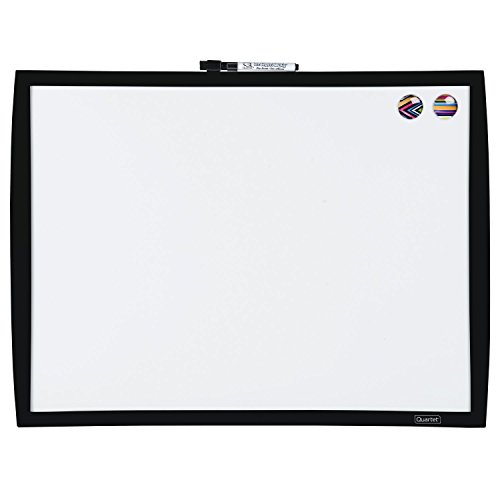 Quartet Magnetic Dry-Erase Board, 17''x23'', Black Frame (34608-BK) by Mead
