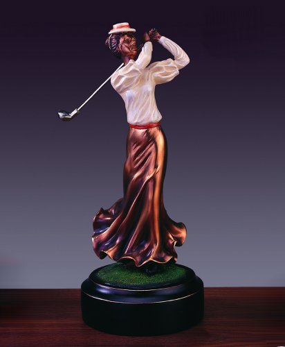 Classic Female Golf Trophy - Award