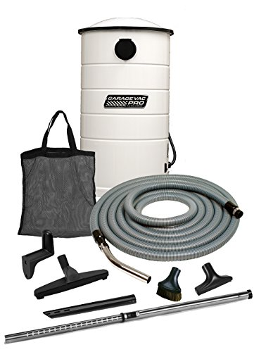 VacuMaid GV50WPRO Professional Wall Mounted Utility and Garage Vacuum with 50 ft Hose and ()