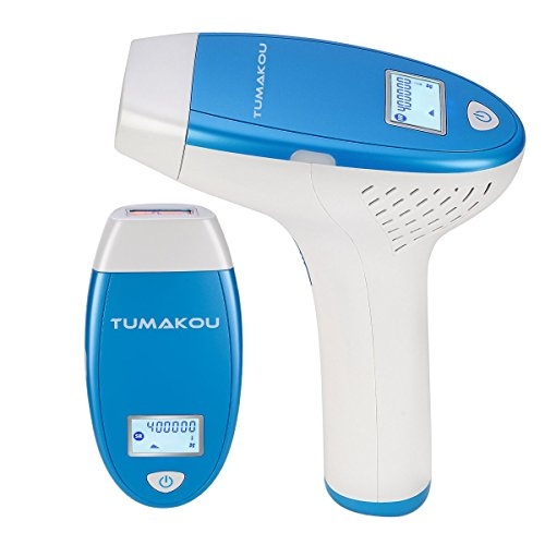 TUMAKOU IPL Permanent Hair Removal System,FDA Approved,Face&Body Painless Hair Removal Device,400000 Pulses,LCD Screen,Hair Removal Epilator for Women & Man (TUMAKOU-T6 IPL Hair Removal Device)