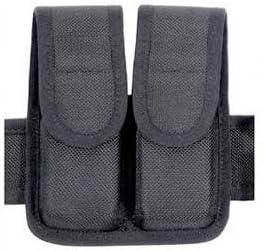 B001QGJYWW BLACKHAWK Molded Black CORDURA Double Mag Pouch - Double Row 41LdC9R9kzL