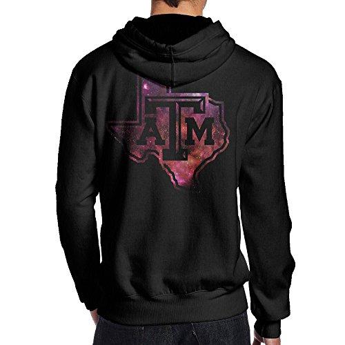 [JKUI9 Men's Texas A&M University Hoodies On The Back Size XXL Black] (Lsu Mascot Costume)