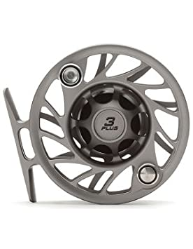Hatch Gen 2 Finatic 3 Plus Fly Reel, Gray Black, Large Arbor