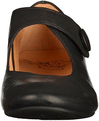 Think! Women's Guad Ballet Flats, Black Black