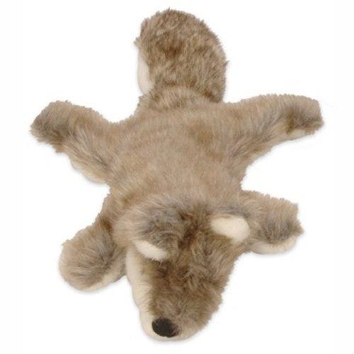 GoDog 770693 Mini Road Kill Wolf Dog Toy, My Pet Supplies