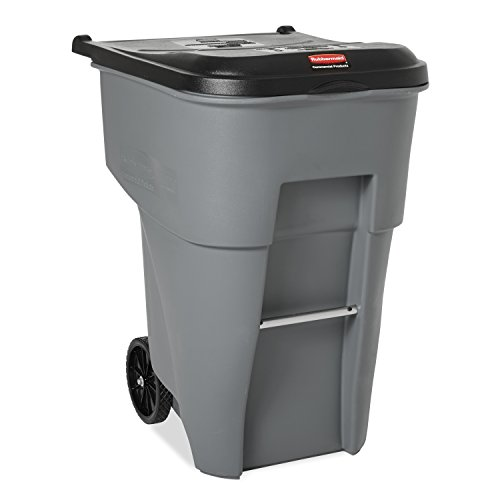 95 gallon trash container - 1