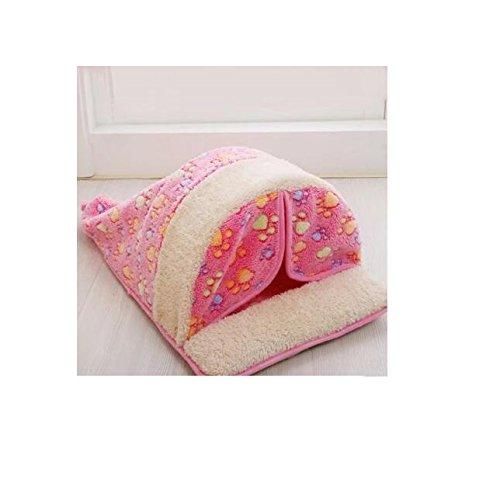 Comfortable Pet Supplies Washable Warm Kennel Cat Nest Dog Pad Pet Supplies Pink Fishinnen