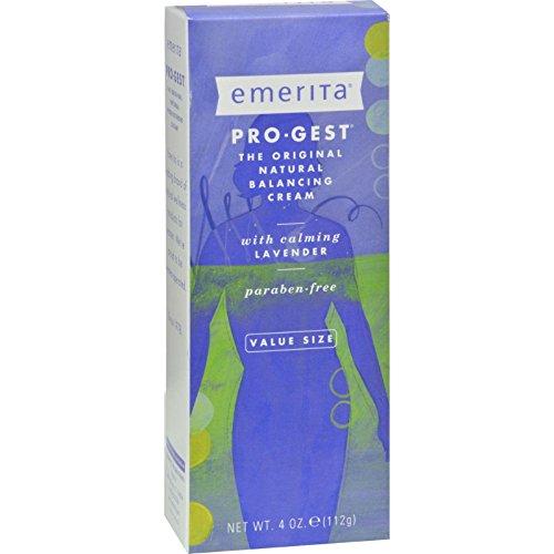 Emerita Pro-Gest Cream - Lavender - 4 oz