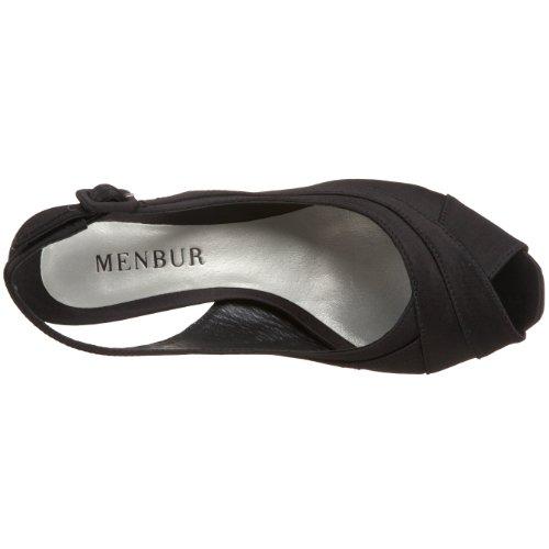 Womens Slingback Platform Megera Menbur Black Menbur Womens x68E11