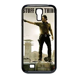 Custom Cover Case with Hard Shell Protection for SamSung Galaxy S4 I9500 case with The Walking Dead lxa#316532 hjbrhga1544