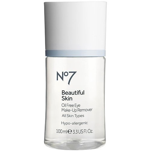 Boots No7 Beautiful Skin Oil Free Eye Make-up Remover - 3.38 oz