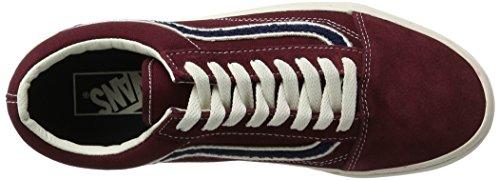Vans Old Skool, Zapatillas de Entrenamiento para Hombre Rojo (Mlx)
