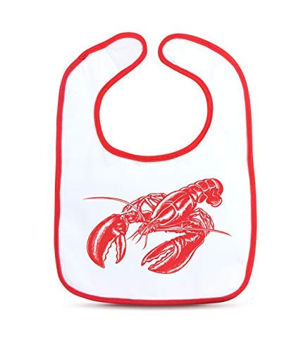 Fred Chill Baby Dressed to Spill - Lobster Bib Set with Claw Teether (Lobster) -