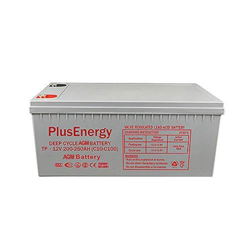 wccsolar.es Bateria AGM PlusEnergy FT12-250 12V-250AH Baterias de ...