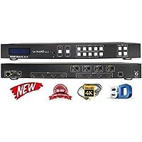 4x4 HDMI 4K @ 60Hz MATRIX SWITCHER HDCP2.2 HDTV ROUTING SELECTOR SPDIF AUDIO CONTROL4 SAVANT HOME AUTOMATION