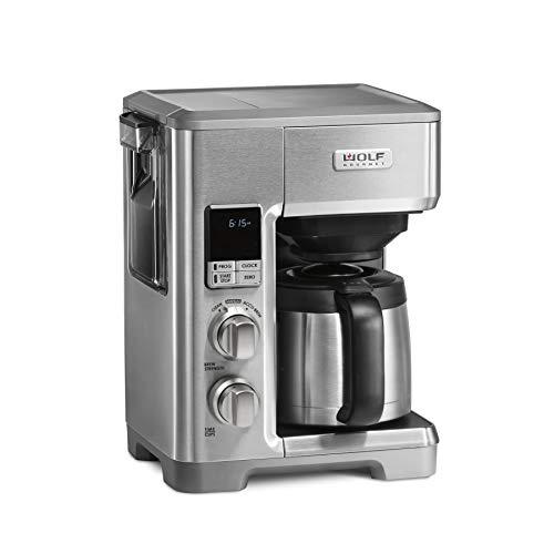 Wolf Gourmet WGCM120S Programmable Coffee System