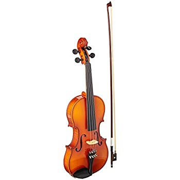 Becker 1000 Symphony Series 4//4 Full Size Violin Gold-Brown Gloss