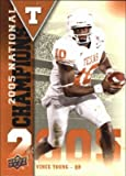 Vince Young football card (Texas Longhorns) 2011 Upper Deck #NC-VY 2005 National Champions