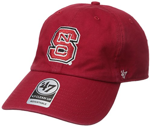 2174b1e285930 NCAA North Carolina State Wolf Pack  47 Brand Clean Up Adjustable Hat
