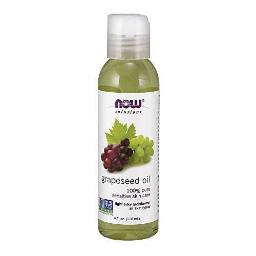 NOW Solutions Grapeseed Oil 4 Ounce