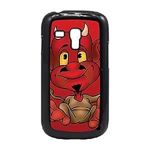Case Fun Case Fun Devil Cartoon Snap-on Hard Back Case Cover for Samsung GalaxyS3 Mini (I8190)