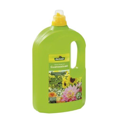 Dehner Blumen-Dünger mit Guanoextrakt, 3 l, für ca. 300 l