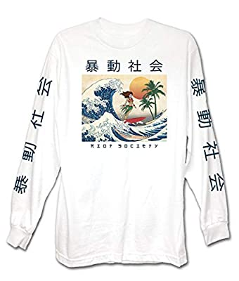 Riot Society Men's Long Sleeve Graphic Fashion T-Shirt