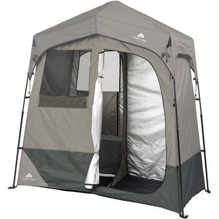 (Ozark Trail 2-Room 7' x 3.5' Instant Shower/Utility Shelter Dark Grey)