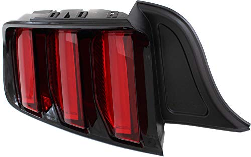 Spec-D Tuning LT-MST99JMLED-SQ-TM Black Tail Light Ford Mustang Sequential Led