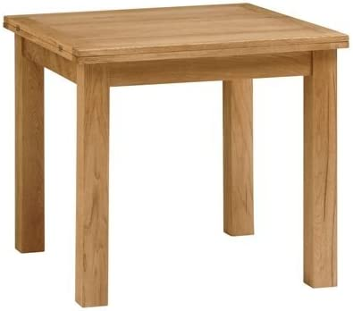 Salisbury Petite Oak 85cm 170cm Square Extending Dining Table Amazon Co Uk Kitchen Home