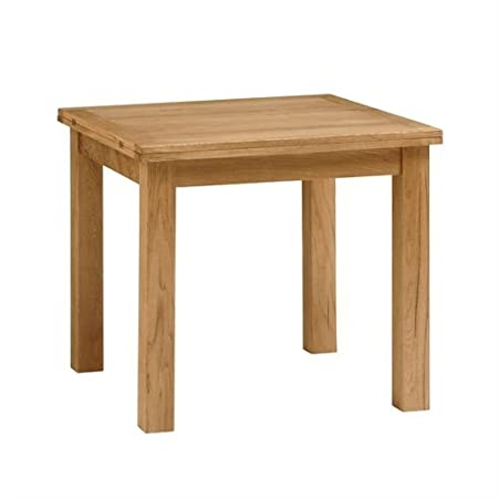 Salisbury Petite Oak 85cm 170cm Square Extending Dining Table