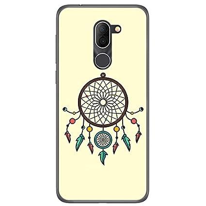 818a52137d4 Tumundosmartphone Funda Gel TPU para ALCATEL 3X diseño ATRAPASUEÑOS Dibujos