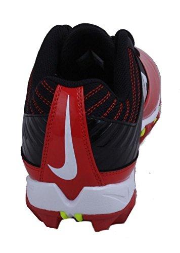 Nike Mens Ånga Haj Svart / Spel Röd / Volt / Vit