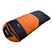Beckles Duck Down Water-resistant Outdoor Camping Hiking Travelling Portable Envelope Sleeping Bag With Cap