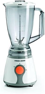 Black & Decker BL300 Batidora de vaso 1.5L 300W Blanco - Licuadora ...