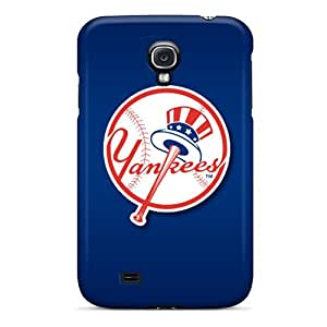 Best Cell-phone Hard Cover For Samsung Galaxy S4 With Customized HD New York Yankees Pattern AlissaDubois