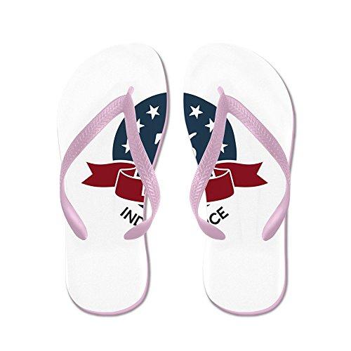 Echt Teague Heren Vintage Amerika Blauwe Cirkel 76 Rubberen Slippers Roze Sandalen
