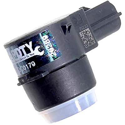 APDTY 15239247x4 PDC Sensor Park Assist Reverse Backup Object Sensor Pack Of 4 Fits Rear Bumper On Select 2006-2016 GM Vehicles (Replaces 15945176, 25962147; View Description For Specific Models): Automotive