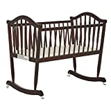 Dream On Me Rocking Cradle, Espresso