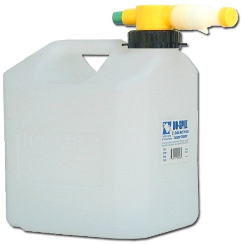 No-Spill 1008 2-1/2-Gallon Poly Multipurpose Can