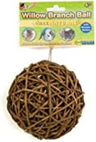 Ware 3153 4-Inch Willow Branch Small Pet Ball Chew