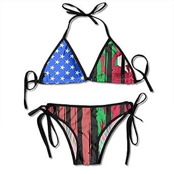 welsh flag bikini