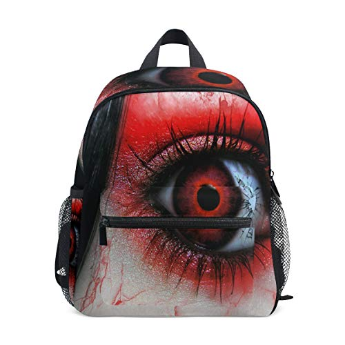 Mini Backpack A Strange Red Eye Small Bag Daypack Lightweight ()